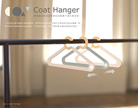 COZY COAT HANGER