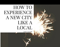 Jutta Curatolo's How to Experience a New City