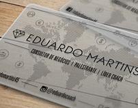 Eduardo Martins - Cartão de Visitas / Business Card