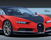 Bugatti Chiron Classic