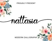 Nattasia Calligraphy Font