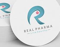Real Pharma Co. corporate Identity