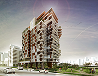 Renders for Highrise Residential Project