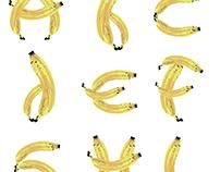 """Tipografía """"Banana Pancakes"""""""