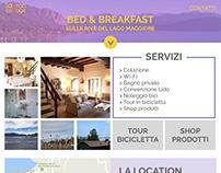 Interfaccia web | Saffron Cottage