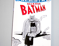 All Star Batman blank cover.