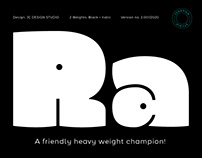 Rono typeface - A heavy weight champion