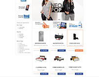 IA & UI for New eCommerce Site of Hites (TBA / Formax)