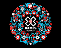 X GAMES NORWAY 2018 Artwork + Visual identity