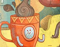 Tumbler Illustration for Arniss Ware