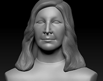 Woman bust  (Commisioned work )