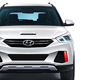 Hyundai Creta Facelift Project