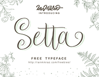Setta Script - Free font