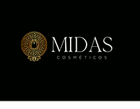 Identidade visual - MIDAS cosméticos
