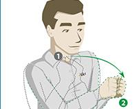 BCI - Ilustraciones para clientes con discapacidad