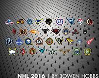 NHL 2016 by Bowen Hobbs