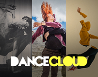 DanceCloud.ro web design and development