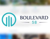 Boulevard 58 Web Design