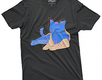 CAT~ T-shirt design project.