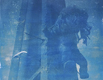 Poster (Cyanotype technique)