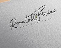 """Branding """"Renato Farias Fotographer"""""""