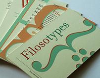 Typographic cardset