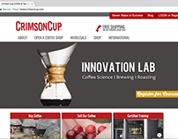 Crimson Cup Coffee: Web Development