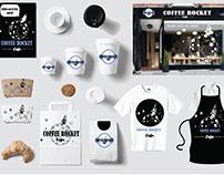 Coffee Rocket Cafe -  Branding