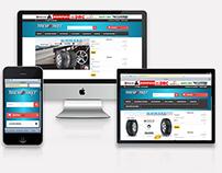 Sitio Web TireMarket