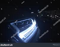 Audi Q7 Matrix LED Headlight