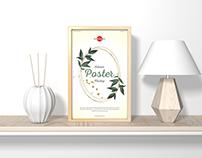 Free Home Interior Vertical Poster Mockup