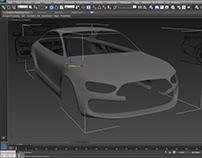 Audi A4_2015 3ds Max