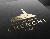 Cherchi - Logo restyling and wine label design