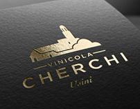 Cherchi - Logo restyling and wine label design