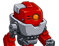 Fightbot, game character