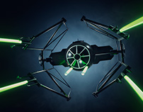 Wired Magazine - Bicycle TIE Fighter