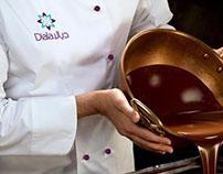 Diala Chocolates branding