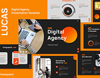Digital Agency Presentation Templates