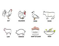 Webshop Biologisch vlees: 't Huis ter Mee