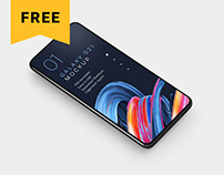 Free Galaxy S21 Mockup Set
