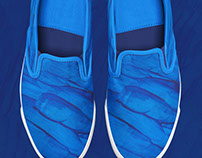 Slip-on Sneakers Design Collection Set 2