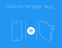 Device manager app: Startup flow