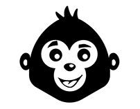 Black Monkey | Social Media Posts | Logo