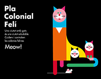 Feline Colonial Plan poster