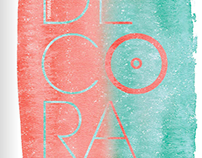 """""""DECORA"""" El Corte Inglés, Equipo de Estilismo."""