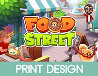 Food Street - Merchandise Design