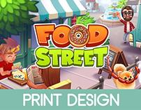 Food Street - Merchandise Design