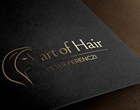 Logo design for Art of Hair Studio