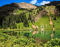 Blue Lakes Western Colorado
