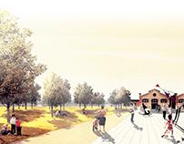 Central Park and rehablitation of Ribes Docks
